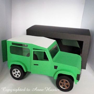 Land Rover Template